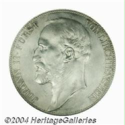 Johann II 5 Kronen 1900, Y-4, MS63 NGC, fully