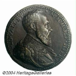 Knights of St. John bronze medal ND (1557-68),