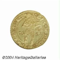 United Netherlands gold ducat 1652 West
