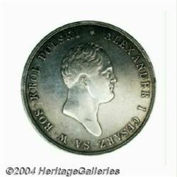 Alexander I 10 Zlotych 1821IB, Bust