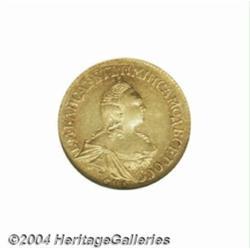 Elizabeth gold 2 Roubles 1756, C-23.2, St.
