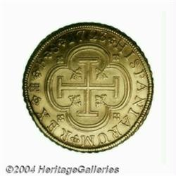 Philip V 8 escudos 1723/1-F, Segovia mint,