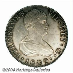Ferdinand VII 8 Reales 1809-S-CN, KM451,