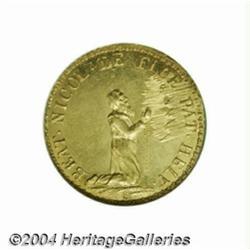 Obwalden. Gold ducat 1787 (restrike of 1860),