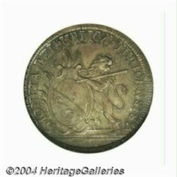 Zurich. 1/2 taler 1776, Lion with sword and