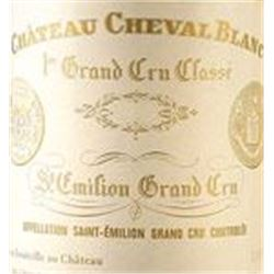 6xChateau Cheval Blanc 1998  (1.5L)