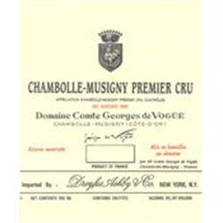 9xChambolle Musigny 1er Cru Comte Georges de Vogue 2011  (750ml)