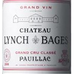 6xChateau Lynch Bages 2000  (1.5L)