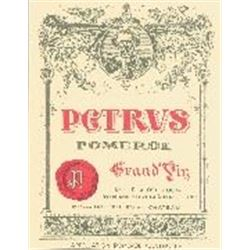 1xPetrus 1981  (750ml)