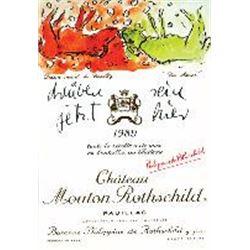 8xChateau Mouton Rothschild 1989  (750ml)
