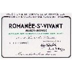 2xRomanee St Vivant Domaine de la Romanee Conti 1986  (750ml)
