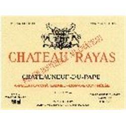 2xChateauneuf du Pape Reserve Chateau Rayas 1990  (750ml)