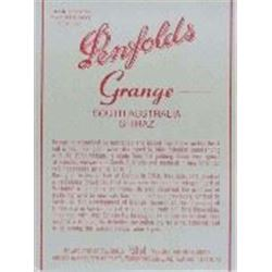 6xPenfolds Grange 1992  (750ml)