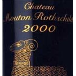 6xChateau Mouton Rothschild 2000  (750ml)
