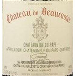 24xChateauneuf du Pape Chateau Beaucastel 2005  (750ml)