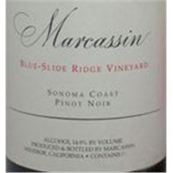 12xMarcassin Blue Slide Ridge Vineyard Pinot Noir 2003  (750ml)
