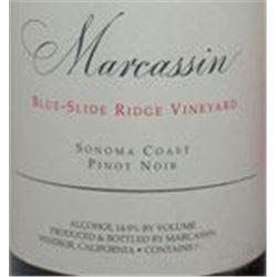 12xMarcassin Blue Slide Ridge Vineyard Pinot Noir 2004  (750ml)