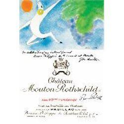 6xChateau Mouton Rothschild 1982  (750ml)