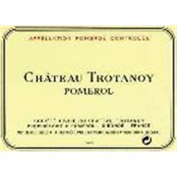 6xChateau Trotanoy 1998  (750ml)