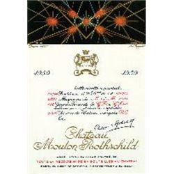 1xChateau Mouton Rothschild 1959  (750ml)