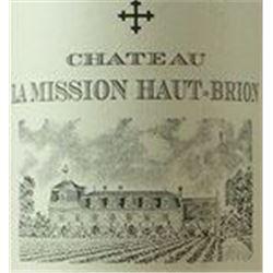 4xChateau La Mission Haut Brion 1982  (750ml)