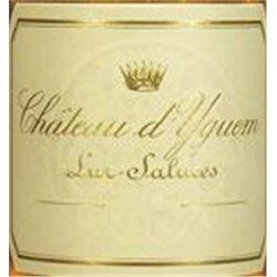 4xChateau d`Yquem 2001  (750ml)