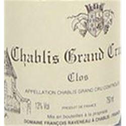 6xChablis Les Clos Raveneau 2002  (750ml)
