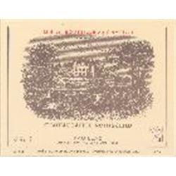 4xChateau Lafite Rothschild 1982  (750ml)