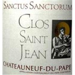2xChateauneuf du Pape Sanctus Sanctorum Clos St. Jean 2009  (1.5L)