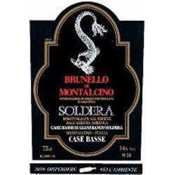 12xBrunello di Montalcino Riserva Case Basse Soldera 2001  (750ml)