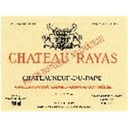 6xChateauneuf du Pape Reserve Chateau Rayas 1988  (750ml)