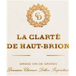 1xLa Clarte De Haut Brion Blanc 2009  (6L)