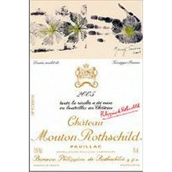 10xChateau Mouton Rothschild 2005  (750ml)