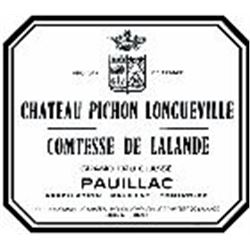 12xChateau Pichon Longueville Comtesse de Lalande 1983  (750ml)