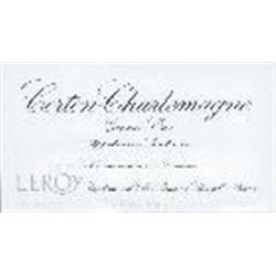 10xCorton Charlemagne Domaine Leroy 2004  (750ml)