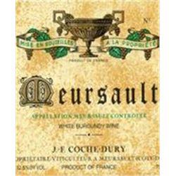6xMeursault Coche-Dury 2010  (750ml)