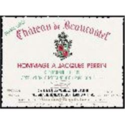 3xChateauneuf du Pape Hommage a Jacques Perrin Chateau Beaucastel 2010  (750ml)