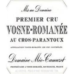 1xVosne Romanee Cros Parantoux Meo-Camuzet 2009  (750ml)