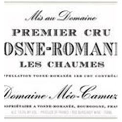 11xVosne Romanee Les Chaumes Meo-Camuzet 2009  (750ml)