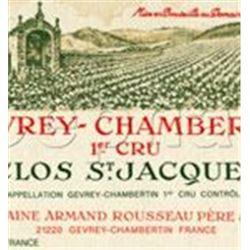 12xGevrey Chambertin Clos St Jacques Armand Rousseau 2013  (750ml)