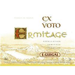 12xHermitage Ex Voto Rouge Guigal 2001  (750ml)