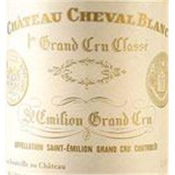6xChateau Cheval Blanc 1989  (750ml)