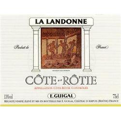 5xCote Rotie La Landonne Guigal 1982  (750ml)