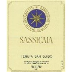 6xSassicaia 1988  (750ml)