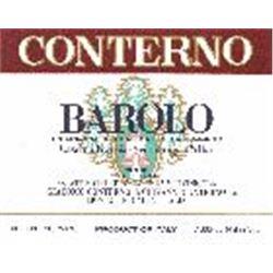 8xBarolo Cascina Francia Giacomo Conterno 1990  (750ml)