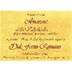 6xAmarone della Valpolicella Dal Forno Romano 1996  (750ml)
