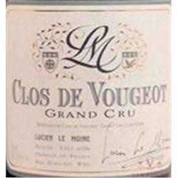 12xClos de Vougeot Lucien Le Moine 2008  (750ml)