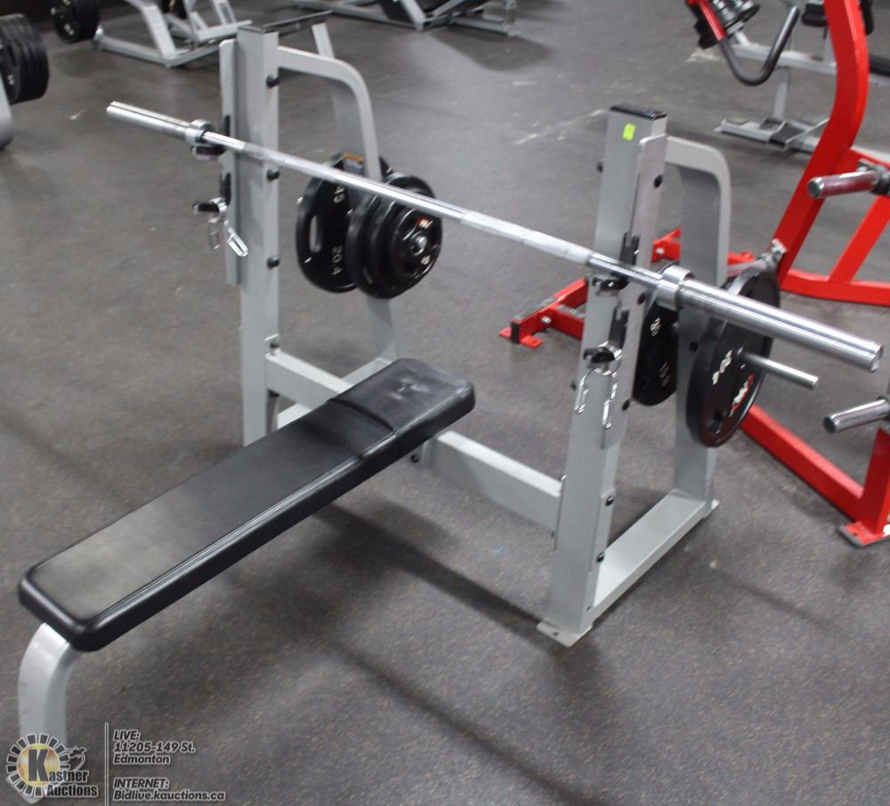Precor Free Weight Press With Bench
