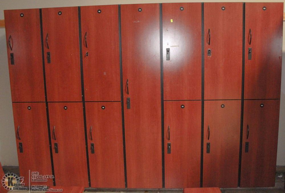 Clubline Lockers 108 120 Single Straight Bank