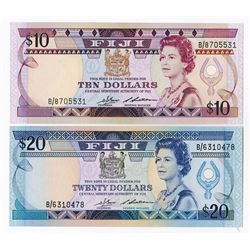 Central Monetary Authority of Fiji, 1986, Issued Pair